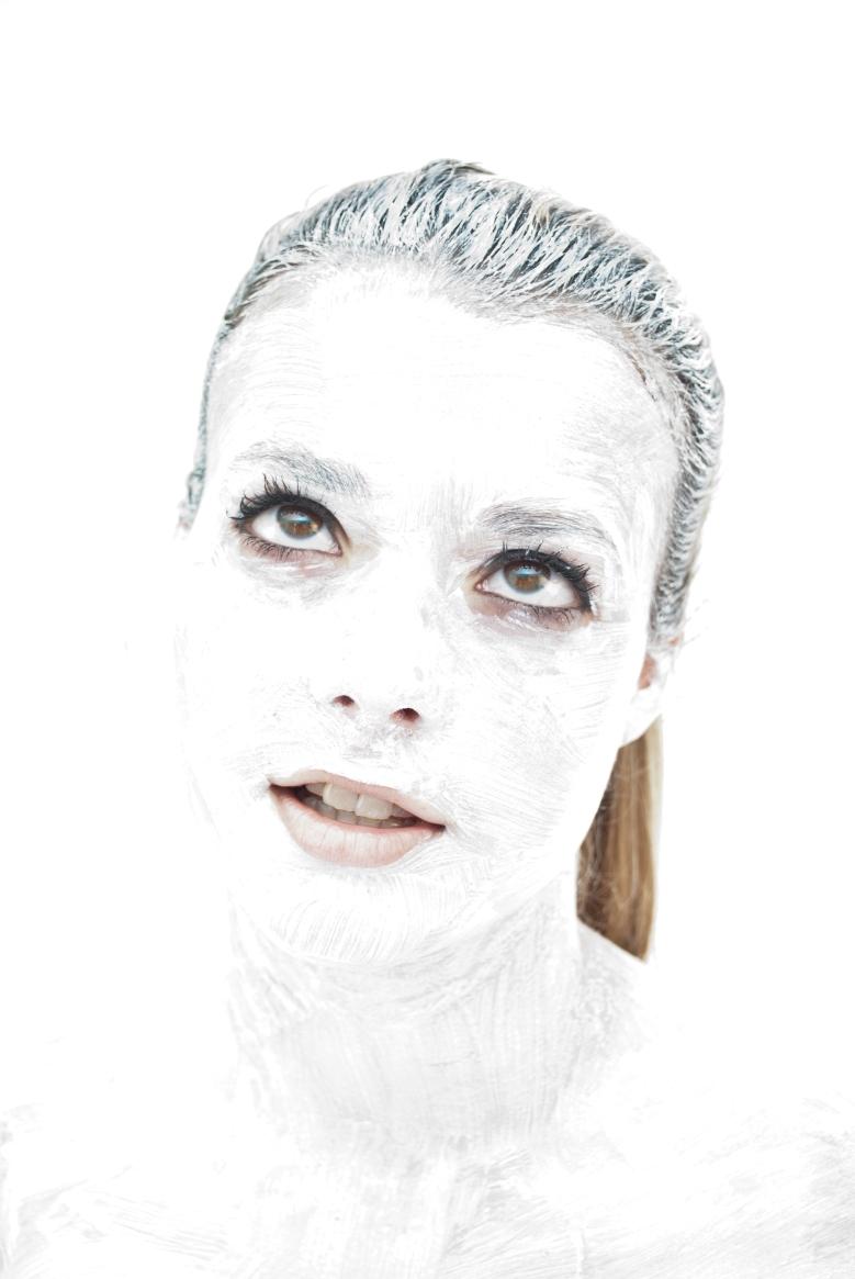 hannah in white